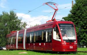 В Новосибирск поступят десять новых белорусских трамваев