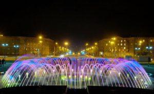 Фонтаны Новосибирска подсветят иллюминацией