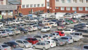 В Новосибирске появится более 800 платных парковочных мест