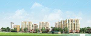 В Дзержинском районе построили новый жилой комплекс