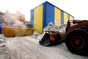 В Новосибирске будет работать новый снегоплавильный комплекс