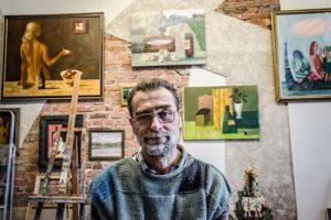 В Новосибирске открылась выставка Сергея Меньшикова