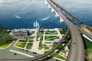Новосибирские власти отменили постановления об изъятии участков под четвёртый мост