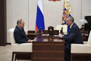 Андрей Травников предложил президенту РФ  развивать территории с высоким научным потенциалом