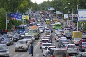 Новосибирск занял 11-е место по загруженности дорог среди европейских городов