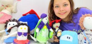 В Новосибирске стартовал необычный проект – изготовление игрушек по детским рисункам
