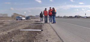Сельские дороги проверили специалисты Минтранса Новосибирской области