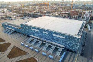 В Новосибирске произведут закладку новой ледовой арены