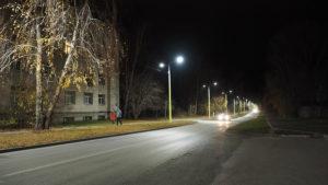 На территории Академгородка установили инновационные фонари