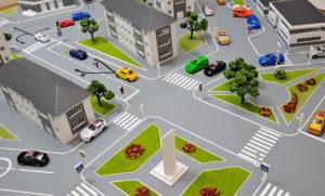 В Новосибирске разрабатывают 3D-модель дорожного движения