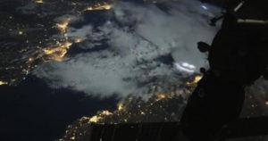 Полёт МКС заснял житель Новосибирска
