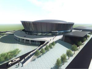 Ледовый дворец получит необычный пешеходный переход