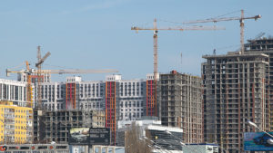 Объёмы строительства жилья в Новосибирске выросли