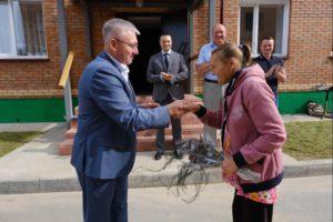 Жителям Маслянинского района дали новые квартиры