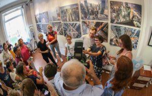 В Новосибирске стартовала фотовыставка руферов