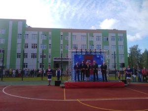 В «Стрижах» открывается реконструированная школа