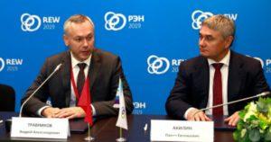 Андрей Травников заключил соглашение о развитии цифровых технологий электросетей