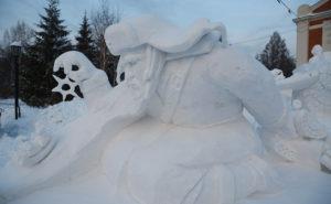 В Новосибирске завершился фестиваль снежных фигур
