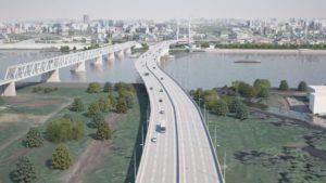 Дано разрешение на строительство четвёртого новосибирского моста