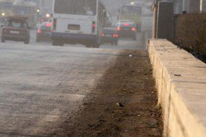 В Новосибирске опробуют новое средство пылеподавления