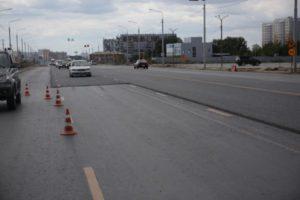 Новосибирский мэр дал поручение завершить ремонт на Гусинобродском шоссе