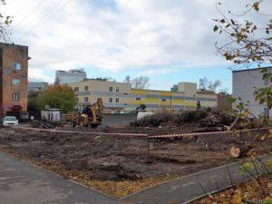 Бизнес-центр возле «Надежды Сибири» строиться не будет