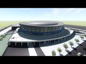 Возле нового ледового дворца спорта появится новый парк