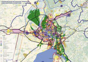 Генплан Новосибирска согласовали власти региона