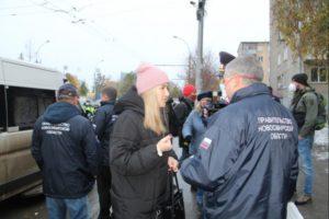 В Новосибирске проводят рейды на нарушителей масочного режима