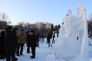 В Новосибирске подвели итоги фестиваля снежных скульптур