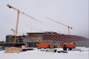 Губернатор НСО считает необходимым достроить ледовый дворец к МЧМ-2023