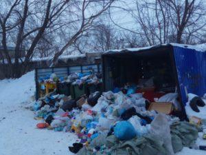 В Новосибирске вновь сложности с вывозом мусора