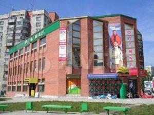 В Новосибирске продаётся крупный торговый центр