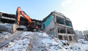 В Новосибирске продолжается строительство бассейна СКА
