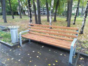 Сквер в Новосибирске благоустроили за 2,8 миллиона рублей